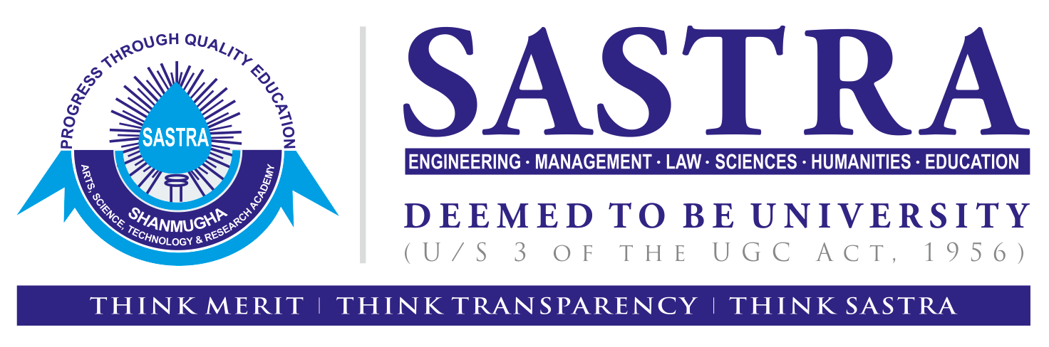 SASTRA Deemed University Sastra B.Tech Admission 2019 – Dates, Eligibility, Application Form